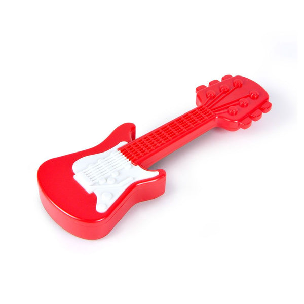 Fred and Friends baby rattle axe guitar