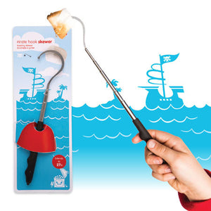 dci gifts pirate hook toasting skewer
