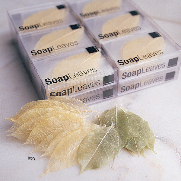 Design Ideas soap leaves