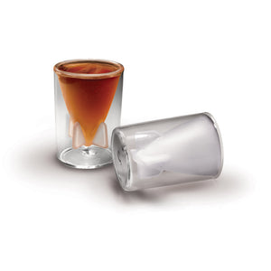 Fred and Friends bombs away shot glasses