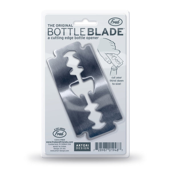 Fred and Friends blade bottle opener