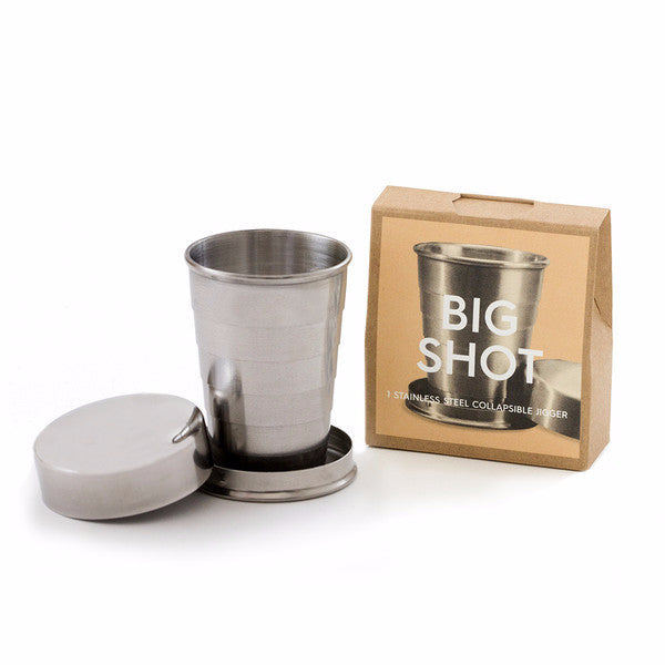 Teroforma big shot collapsible shot glass