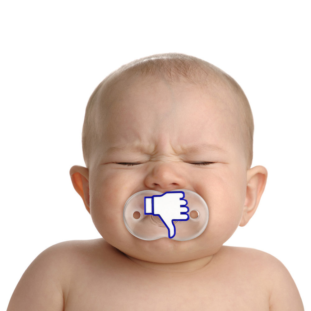 Fred and Friends Like it facebook pacifier