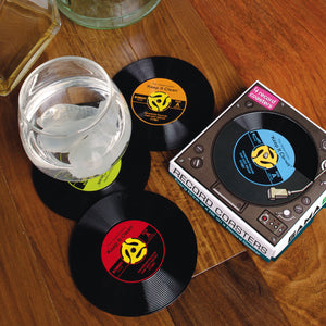 Gamago 45 record coasters