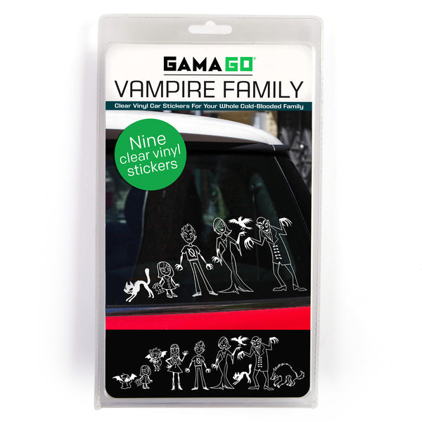Gamago vampire family car decals