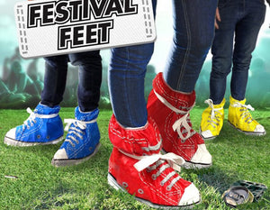 Gift Republic Spinning Hat festival feet shoe covers