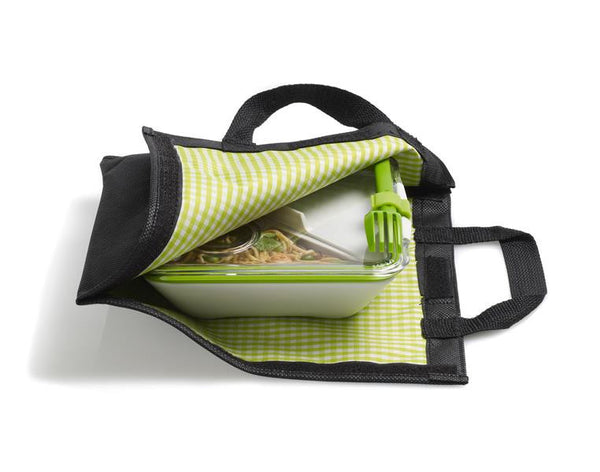 Black and Blum lunch bag