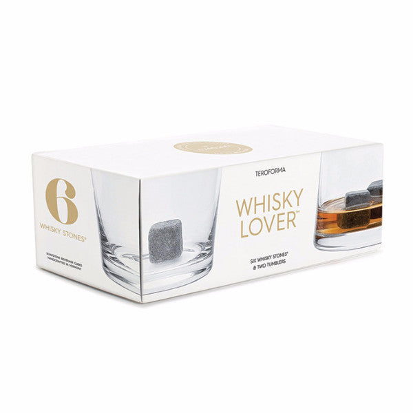 Teroforma Whisky Lover soapstone set