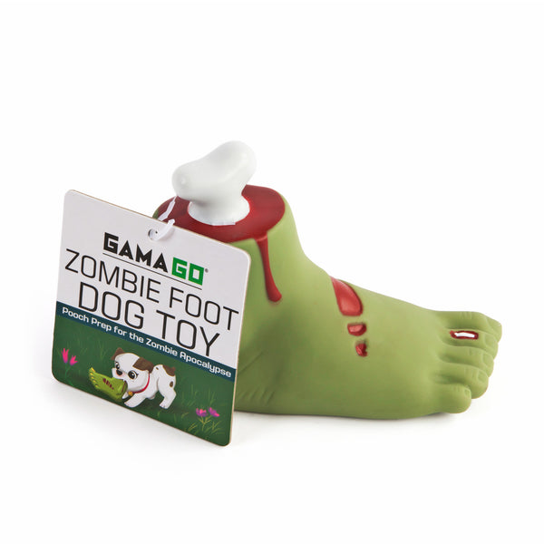 gamago zombie foot dog toy