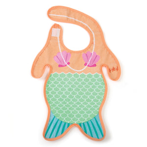 Gamago mermaid cotton bib