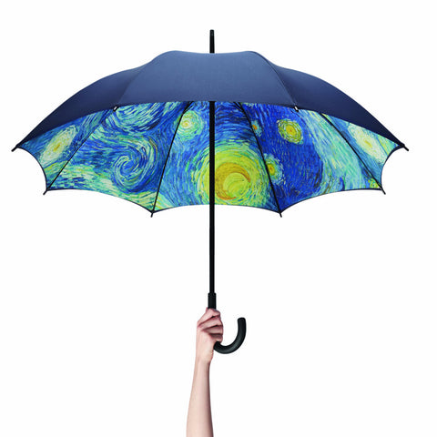 Van Gogh Starry Night Umbrella by MoMA