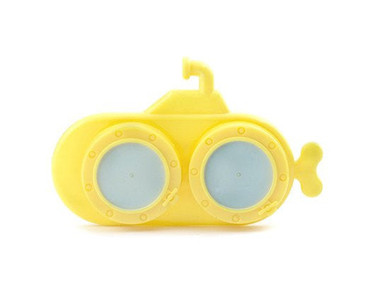 Kikkerland yellow submarine lens case