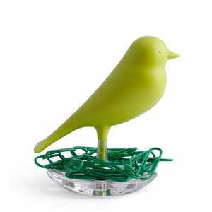 Qualy sparrow bird paper clip holder