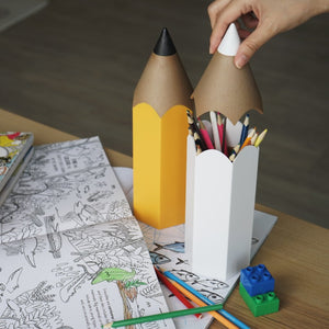 qualy dinsor pencil container
