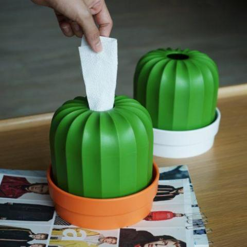 qualy cactiss tissue holder