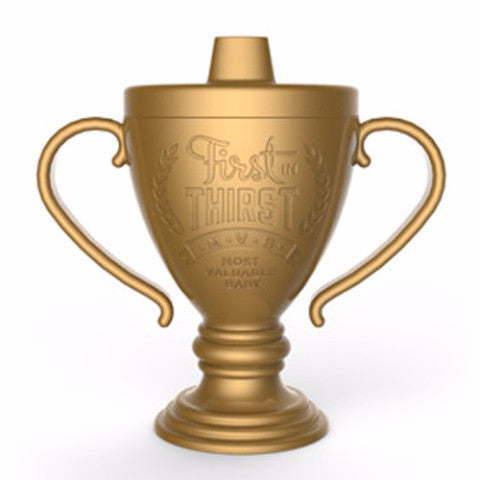 Fred and Friends lil winner trophy sippy cup
