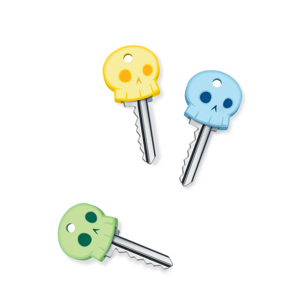 Fred and Friends skeleton key covers