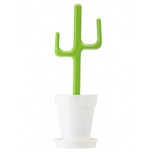 Vigar cactus white toilet brush