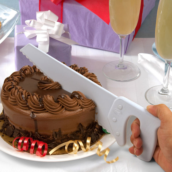 Fred and Friends table saw cake cutter