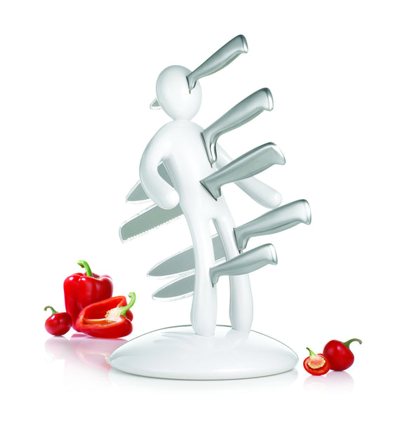 The Ex knife set White by RICBS Raffaele Iannello