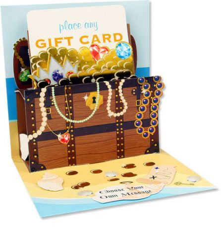 up with paper treasure gift card holder 905GC