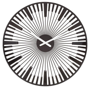 Koziol PIANO black clock