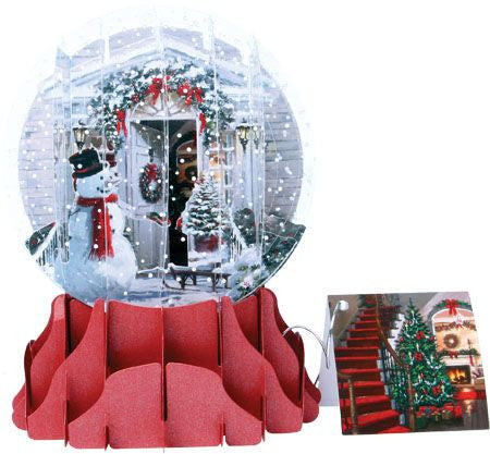 up with paper sgs048l holiday door globe card