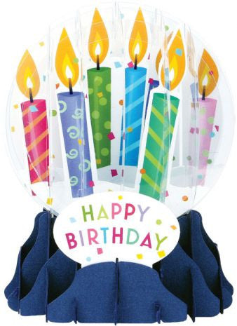 up with paper eg010 birthday candles globe card