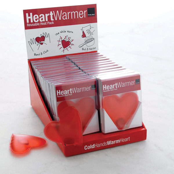 Design ideas heart warmer heat pack