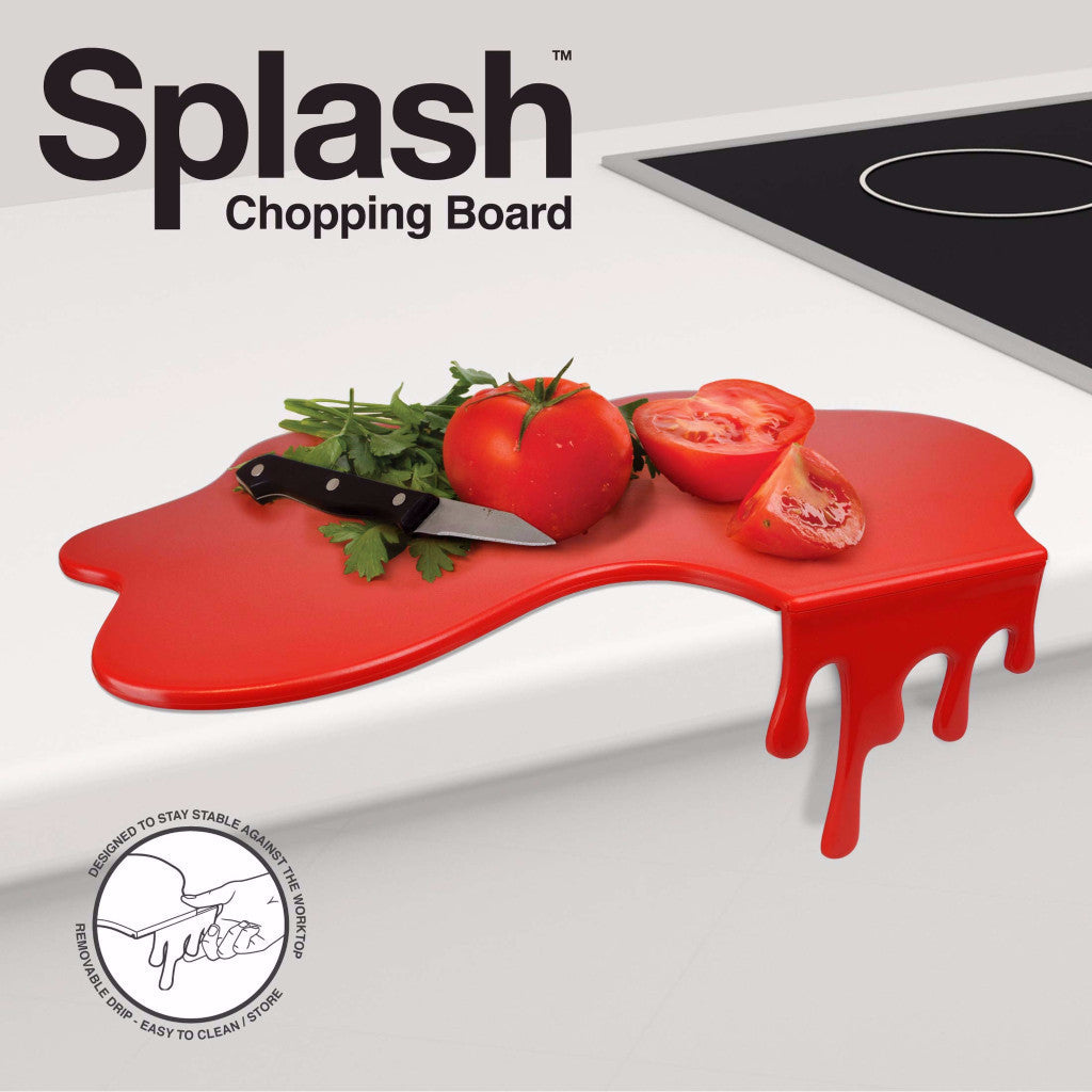 Just Mustard Splash chopping board