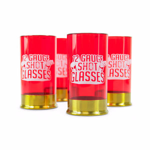 Just Mustard 12 gauge shot glasses set