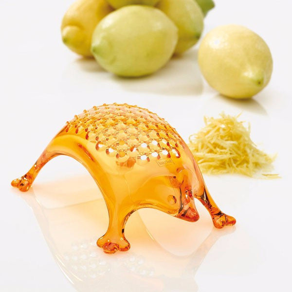 Koziol Kasimir cheese citrus grater orange