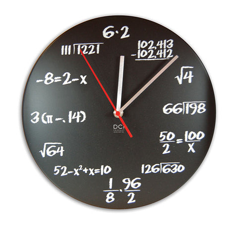 Dci gifts pop quiz clock