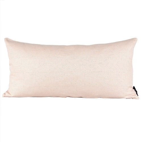 Herringbone Cushion, Light coral, 35x70