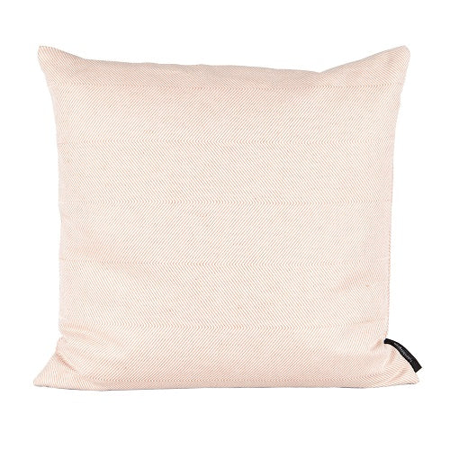 Herringbone Cushion, Light coral, 45x45