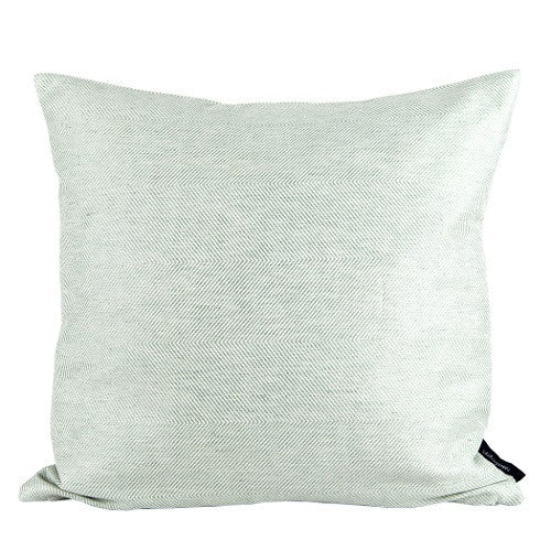 Herringbone Cushion, green, 45x45