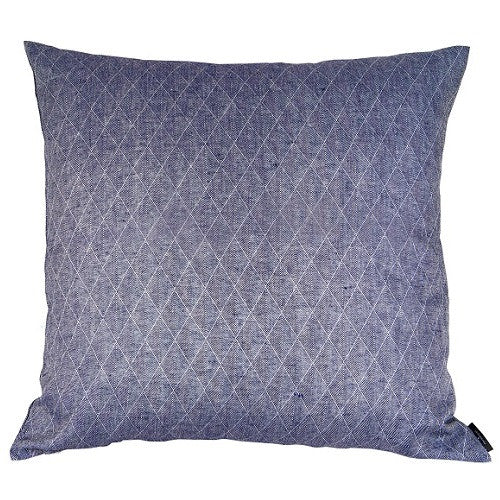 Floor cushion 100% linen, Dark Blue