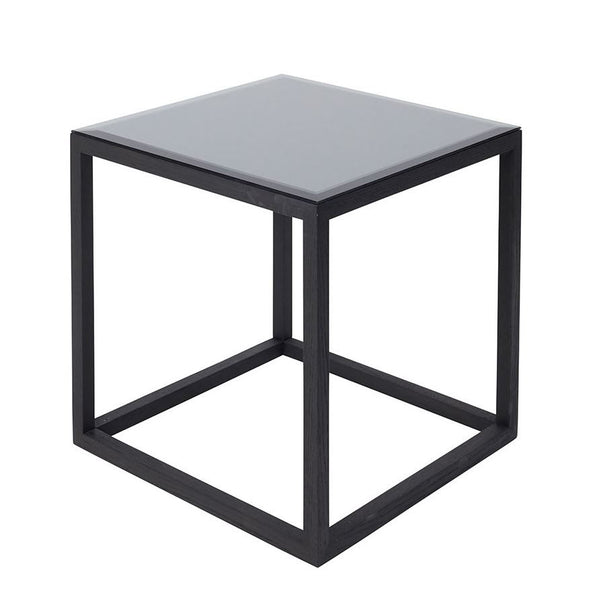 CUBE table- Black/mirror