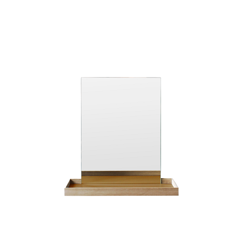 FRAME mirror small, pure ocher