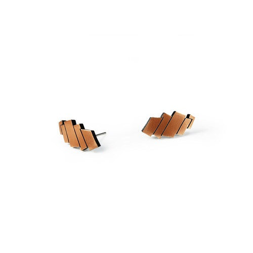 Lilly Earring, copper