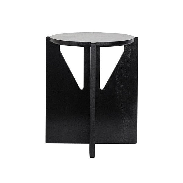 Stool - Black oiled beech