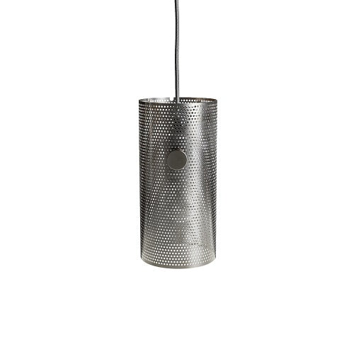 TURN lamp, polished steel