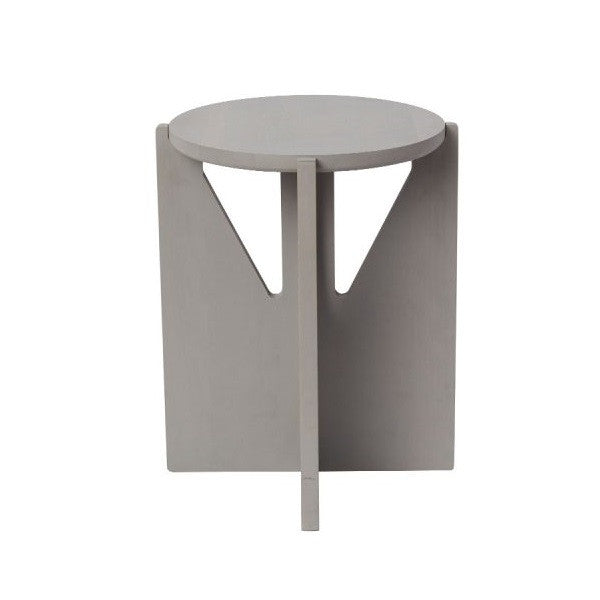 Stool - Grey oiled beech