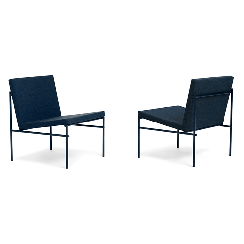 CLICK Lounge Chair, Night Blue