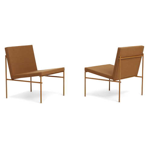 CLICK Lounge Chair, Pure Ochre