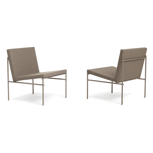 CLICK Lounge Chair, Stone grey