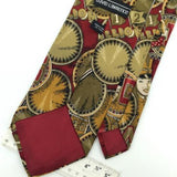 DAVID LAWRENCE MADE IN ITALY Circus Clown Men Short Necktie #I1-1184 Ties