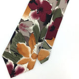 CELLINI US MADE Art Deco Olive Green NARROW Silk Men Classic Necktie I2-362 Ties
