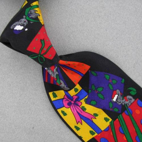 ADDICTION BLACK RED GREEN GIFTS Christmas Silk Men Necktie tie X6-30 New