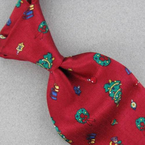 "59"" NECK ART RED GREEN GIFTS HOLLYBERRY TREE Christmas Silk Ties tie X6-35 New"